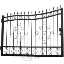 Personalizado de alta calidad cerca del hierro labrado / puerta