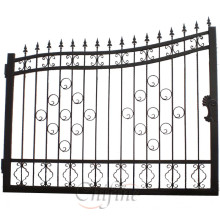 Подгонять Высокое Качество Кованого Железа Забор / Ворота