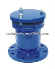 Automatic quick air release valve with one ball
