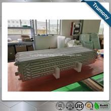 Hoja de enfriamiento de agua de soldadura fuerte de aluminio para intercambiador de calor