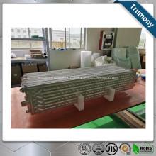 feuille de refroidissement par eau de brasage en aluminium pour échangeur de chaleur