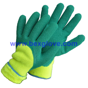 7 Gauge Acrylic Liner, Latex Work Glove