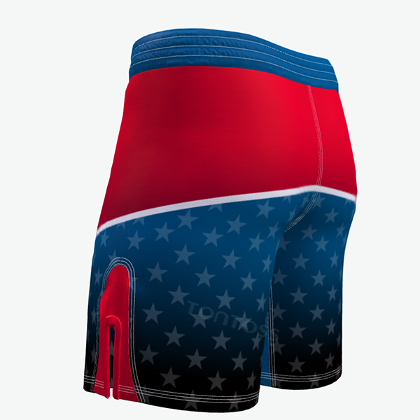 Mens Combat Shorts Side
