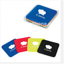 Colorful Heatproof Silicon Rubber Cup Pad