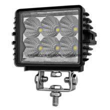 Barra impermeable de la luz del trabajo del LED del poder más elevado 18W para el coche universal