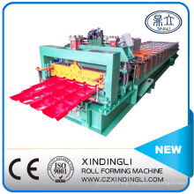 Antique Style Glazed Tile Roll Forming Making Machine