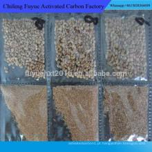 casca de nozes para polimento e areia