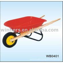 carrinho de mão leve galvanizado
