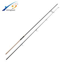 CPR079 Caña de pescar de carpa en blanco de alta calidad de naro carbono