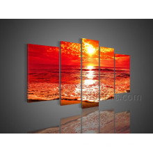 Wall Art Beautiful Seascape Oil Painting on Canvas Art (SE-190)