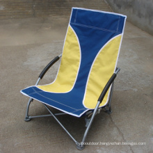 2015 Design Waterproof Low Seat Small Folding Beach Chair (SP-137)