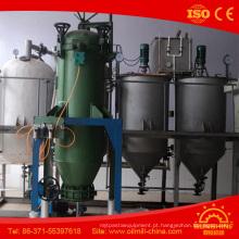 Planta de refinaria de petróleo da palma da máquina da refinaria de petróleo do amendoim 5t / D