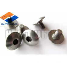 Gr5 titanium cup head square neck bolt