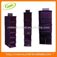 Roxo saco de suspensão em série / armazenamento durável saco / armário pendurado organizador / organizador de parede roxa