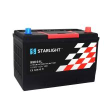 12.8V 95D31L LiFePO4 Lithium Starter Electric Car Battery