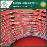 ss 316 Stainless Steel Wire Rope Ferrule Mesh