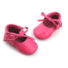 Fashion Pink Baby Tassels Dress Shoes