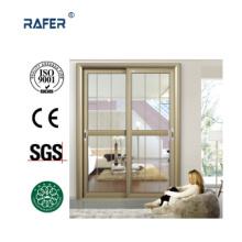 Продаем лучший Золотой Цвет алюминиевой раздвижной двери (РА-G145)