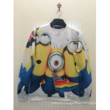 Mr Minions Cute Printing Sweatshirts Long Sleeve