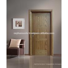 Natural Oak Horizontal and Vertical Design Interior Door