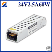 24V 2.5A 60W Slim Driver for LED Light