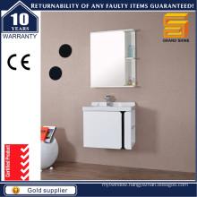 Modern Simple Storage Bathroom Vanity with Mirror Shelf