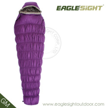 Goose Down Mummy Sleeping Bag for Winter