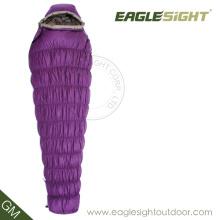 Гусиный пух Мумия спальный мешок для зимы