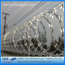 New Galvanized Razor Barbed Wire