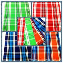Fashion Shirting 100% Baumwollgarn gefärbter Stoff