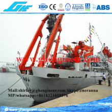 Electrical Hydraulic a Frame Deck Crane Expediture Ship