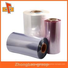 PVC/POF/PE shrink film/heat shrink film/thermo shrink film/shrink wrap film/inkjet shrink film/colored heat shrink wrap film