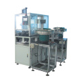 Automatic plastic end cover pressing machine