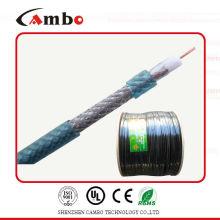 Cable de TV digital de aluminio recubierto de cobre RG-6