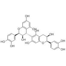 [4,6'-Bi-2H-1-benzopyran]-3,3',5,5',7,7'-hexol,2,2'-bis(3,4-dihydroxyphenyl)-3,3',4,4'-tetrahydro-,( 57279463,2R,2'R,3R,3'R,4S)-  CAS 12798-57-1
