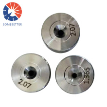 Nd Hole Size 0.10-0.20 Mm Natural Diamond Whosale Factory Prices Pcd Die Pellets Cores Used Wire Drawing Dies