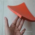 Almohadilla de goma de la hoja de goma del rojo SBR de 10m m