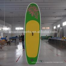 Panneaux gonflables en gros de planche à voile de yoga de corps de SUP de corps de SUP