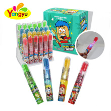 Toothbrush Shape Lighting Toy with popping candy