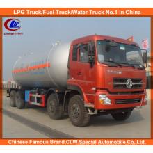 Venda directa de fábrica Dongfeng 8 * 4 Caminhão-tanque de GLP