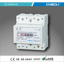 Single Phase DIN Rail Meter 4p