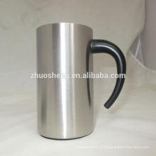 tasse en acier inoxydable extérieur chaude de prix bas imprimés respectueux de l'environnement