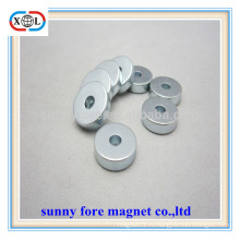 Оптовые продажи круглые магниты с отверстиями
