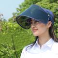 Máscara protetora facial grande fábrica de chapéus para o sol