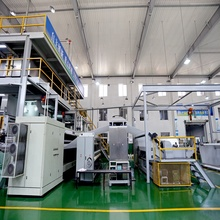 1600/2400/3200/4200 MM SS Non-woven Fabric Making Machine
