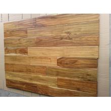 Günstige Handscraped Black Walnut Stain Kleine Blatt Acacia Wood Flooring