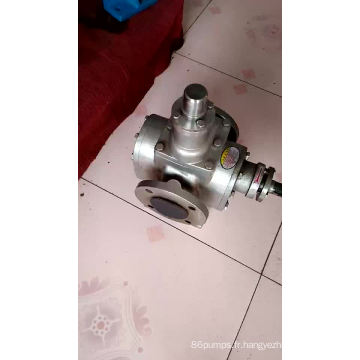 Prix usine - Pompe à huile à engrenages circulaire série YCB pompe de transfert de carburant pompe à huile à engrenages industriels