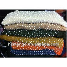 2016 latest fashion winter polka dot scarf