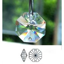 Pièces en cristal pour des lustres Accessoires pendants en cristal