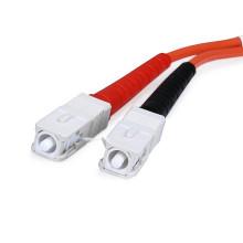 Prix d'usine duplex sc sc câble de connexion optique avec UPC 0.9mm